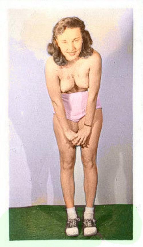 bobby-soxer pink panties